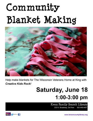 Community Blanket Making Event!