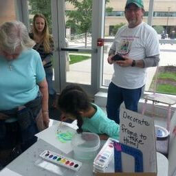 CKR program at Fox Cities Community Art Day!