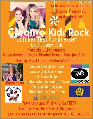 CKR October Fest Fundraiser!
