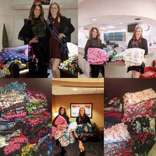 Creative Kids Rock Donating Tie Blankets To Children @ Hospitals
