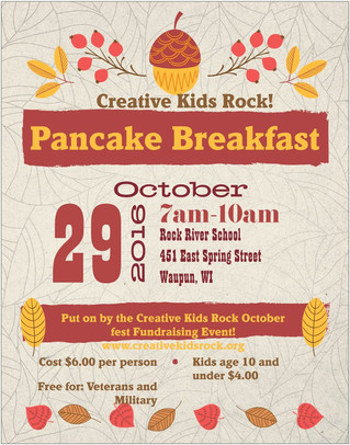 CKR Pancake Breakfast Veterans and Military are FREE!