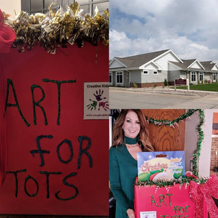 Creative Kids Rock Art for Tots Drive