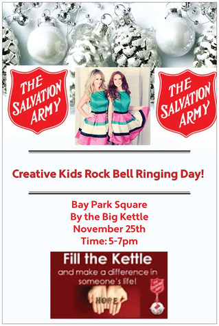 CKR Bell Ringing Day Salvation Army