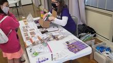 Volunteering at the Art Garage Spring Art Market