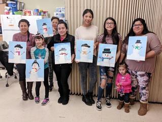 Free Family Art Class at Howe Community Resource Cener