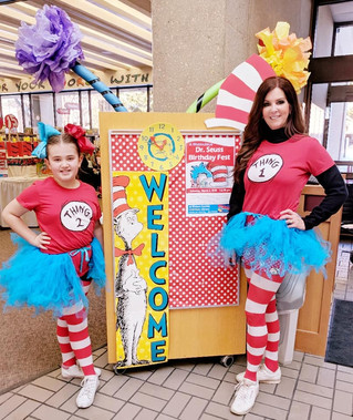CKR Happy Birthday Dr. Suess at the Central Library Event!