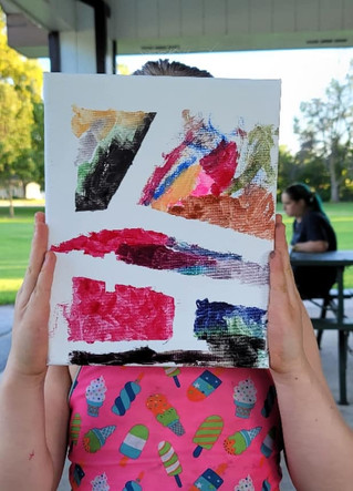 Upcycled Art in the Park!