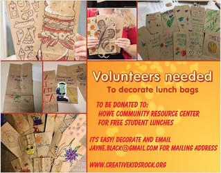 Virtual Art Project Volunteers needed!