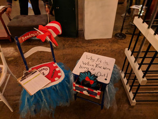 CKR President donates Dr. Suess Chair for the Habitat for Humanity RePurpose for a Reason