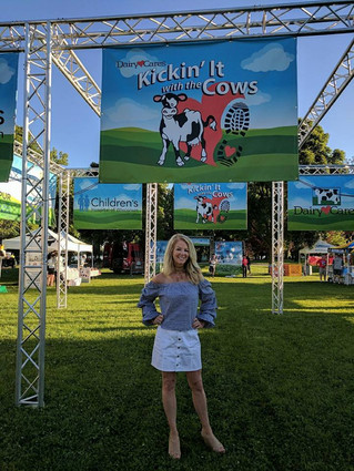 CKR at Kickin' it with the Cows Fundraiser!