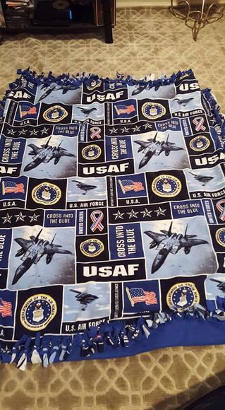 CKR National Tie-Blanket Program for Veterans