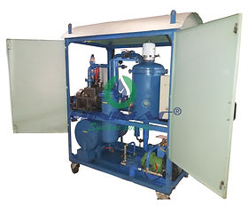 Transformer Oil Filtration System Double