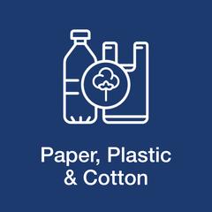 Paper, Plastic & Cotton