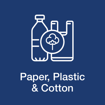 Paper, Plastic & Cotton