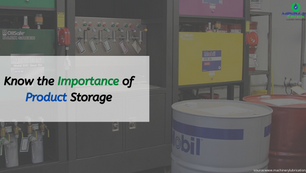 Importance of product storage