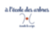 Ecole des arbres_logo bleu avec texte.pn