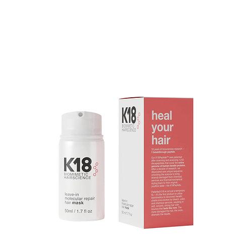 K18Hair Leave-in Molecular Repair Mask 50ml