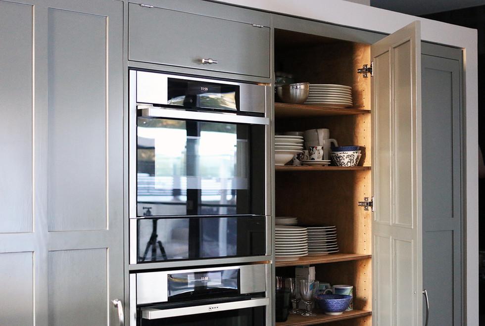 Uudiskohteen keittiö, Vantaa