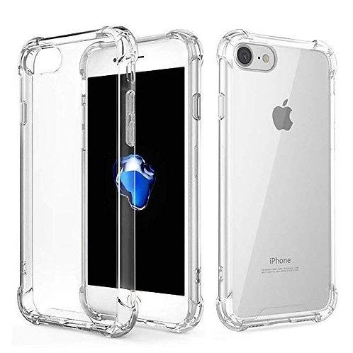 Goospery, iPhone 7, 8, SE 2020, Super Protect, Clear Case - Air Cushioned Corner