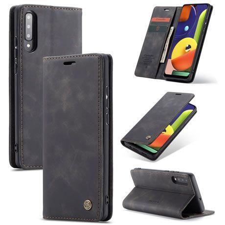 CaseMe, Samsung Galaxy A30SA50SA50, Wallet Case - Black