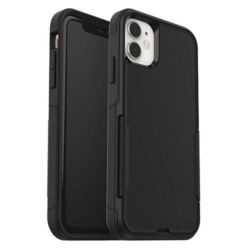 iPhone 11, Travel Series Case, Dual Material - Black
