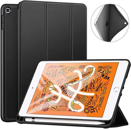 Goospery, iPad Mini 4, 5, 7.9 Trifold & Stand Case, Magnetic Door, Pen Holder