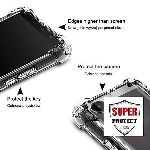 Goospery, Galaxy A20E (A202), Super Protect, Clear Case - Air Cushioned Corners