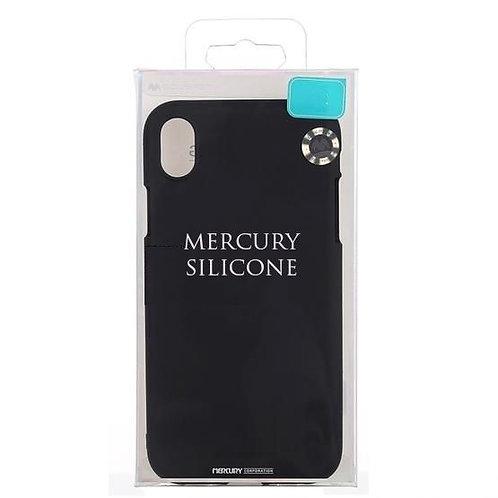 Goospery, iPhone 7, 8, SE 2020, Liquid Silicone Case - Black