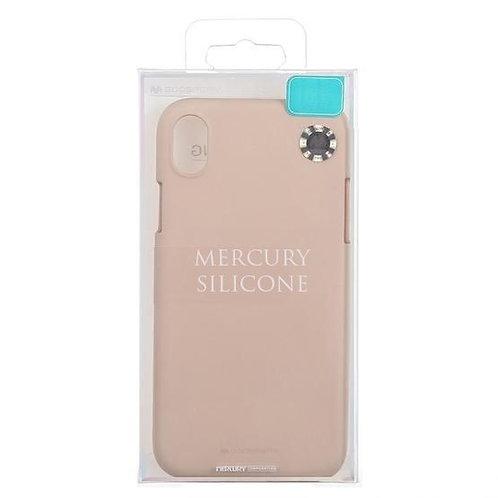 Goospery, iPhone 7, 8, SE 2020, Liquid Silicone Case - Pink Sand