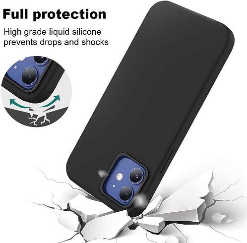 Laudtec, iPhone 12 Mini, Liquid Silicone MagSafe Case - Black