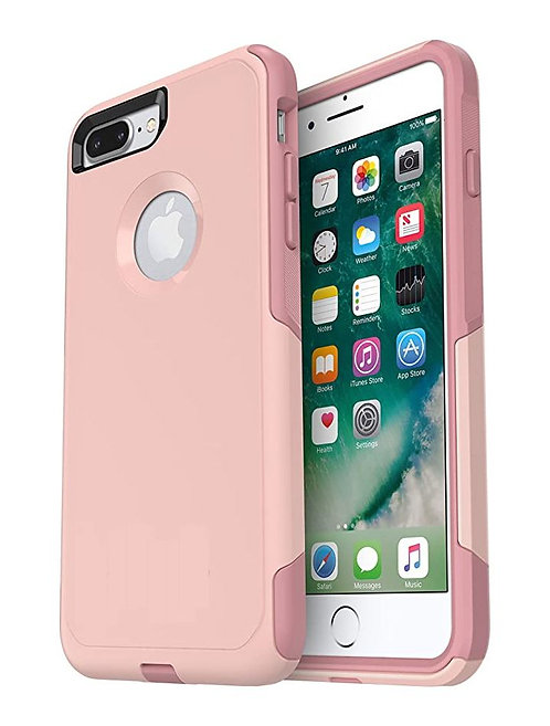 iPhone 7, 8, SE 2020, Travel Series Case, Dual Material - Pink