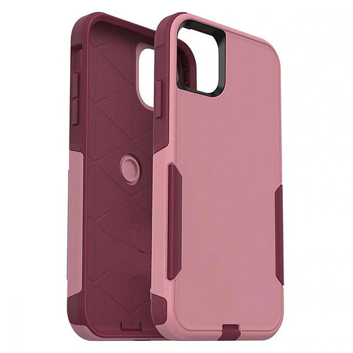 iPhone 11, Travel Series Case, Dual Material - Pink