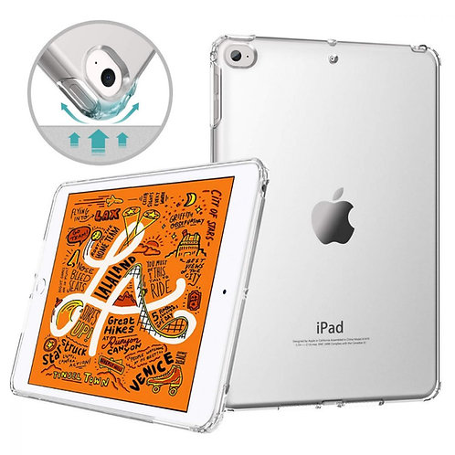 Goospery, iPad Mini 1,2,3,4,5, 9.7, Clear Case - Air Cushioned Corners