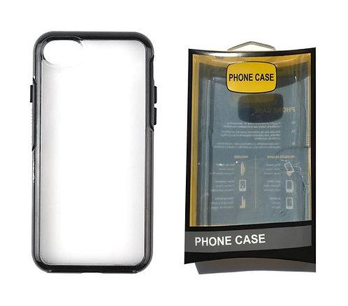 iPhone 6, 6S, 7, 8, SE 2020, Heavy Duty - Black Case