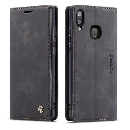 CaseMe, Samsung Galaxy A20  A30, Wallet Case - Black