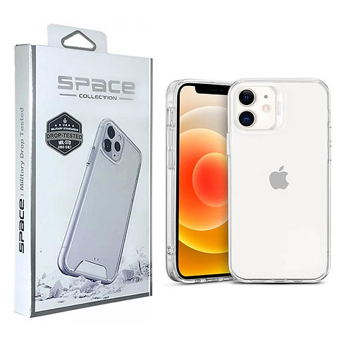 Apple, iPhone 12 Mini (5.4), Space Case Collection, Dual Material - Clear