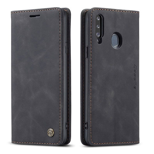 CaseMe, Samsung Galaxy A20S, Wallet Case - Black