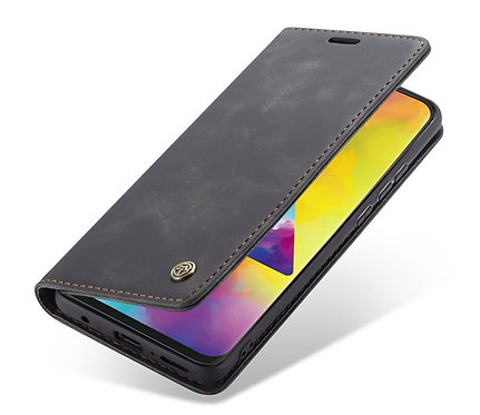CaseMe, Samsung Galaxy M20, Wallet Case - Black