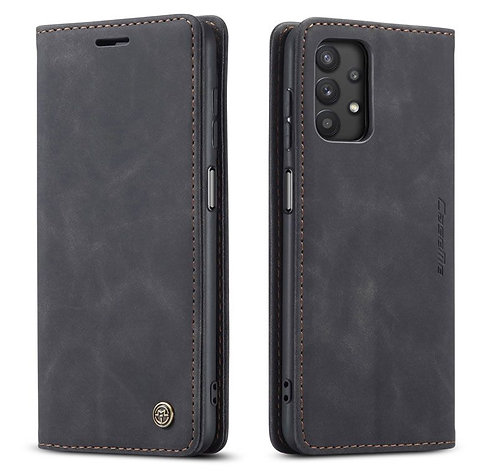 CaseMe, Samsung Galaxy A32 (5G), Wallet Case - Black