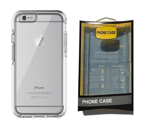 iPhone 6 6S 7 8 SE 2020, Heavy Duty - Clear Case
