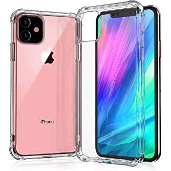 Goospery, iPhone 12. 12 Pro (6.1), Super Protect, Clear Case - Air Cushioned Cor