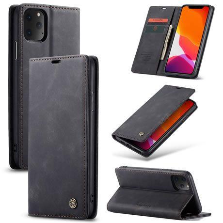 CaseMe, iPhone 11 Pro Max, Wallet Case - Black
