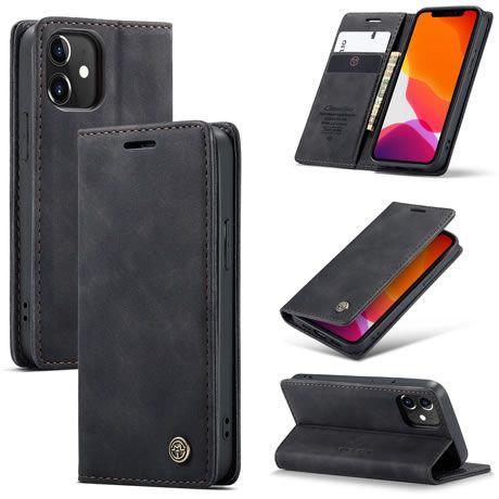 CaseMe, iPhone 12 Mini, 5.4, Wallet Case - Black
