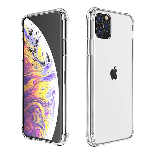 Goospery, iPhone 11 PRO MAX (6.5), Super Protect, Clear Case - Air Cushioned Cor