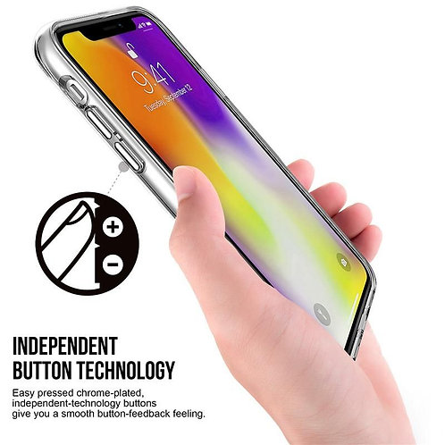 Apple, iPhone 11, Space Case Collection, Dual Material - Clear