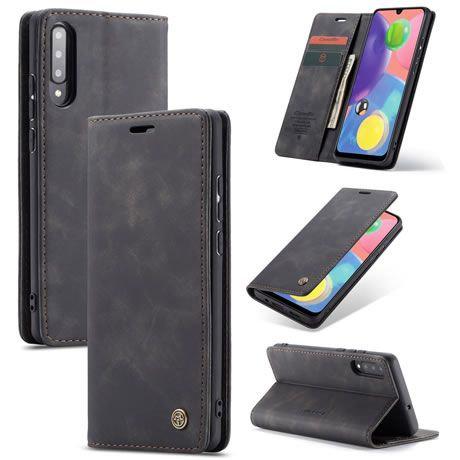 CaseMe, Samsung Galaxy A70S, Wallet Case - Black