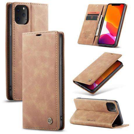CaseMe, Apple iPhone 11 Pro MAX, Wallet Case - Brown
