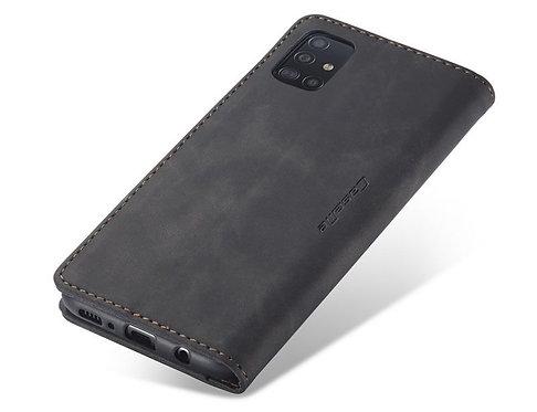 CaseMe, Samsung Galaxy A51, Wallet Case - Black