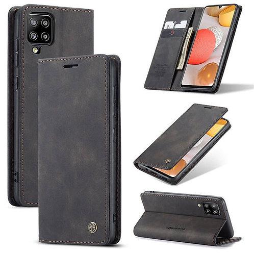 CaseMe, Samsung Galaxy A42, 5G, Wallet Case - Black