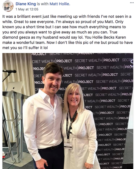 Matt & Diane at The Info Product Live Event